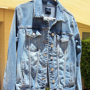 Just USA / Stitch Fix -- Loula denim jacket, sz M